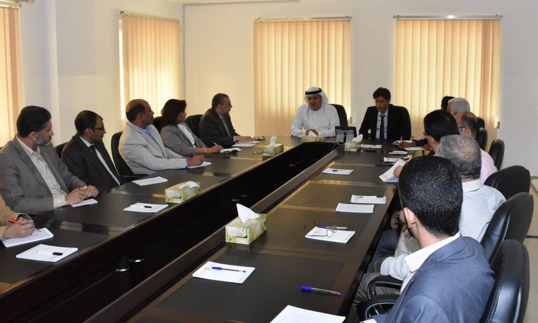Dr. Noor Aldeen Atatreh, member of board of trustees Meets with Faculty Members