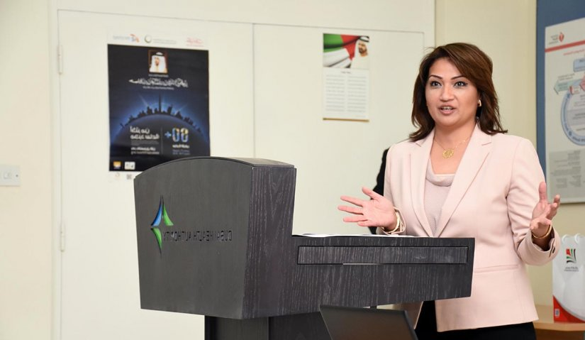 Al Falah University Organizes a Seminar at the Headquarters of Dubai Health Authority
