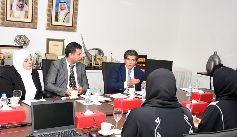 Al Falah University Delegation Visits Dubai Foundation for Women and Children