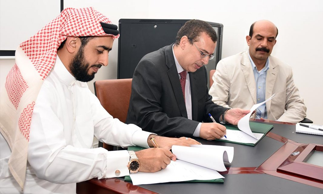 Agreement of Cooperation between Al Falah University and the Office of Ibrahim Al Hosni Law Firm