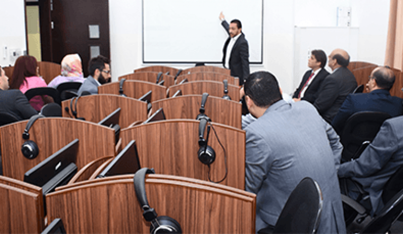 Al Falah University Faculty Members Attend Lecture on E-Learning System