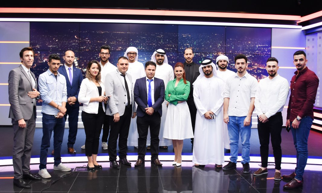 AFU Mass Communication Students Visit Orient Media Training Center