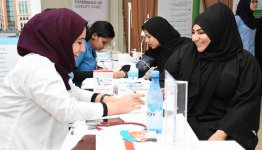 Medical day at Al Falah University