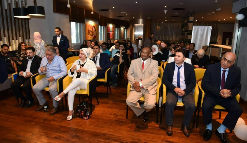 A visit to the Emirates Writers Club and a critical reading of the novel